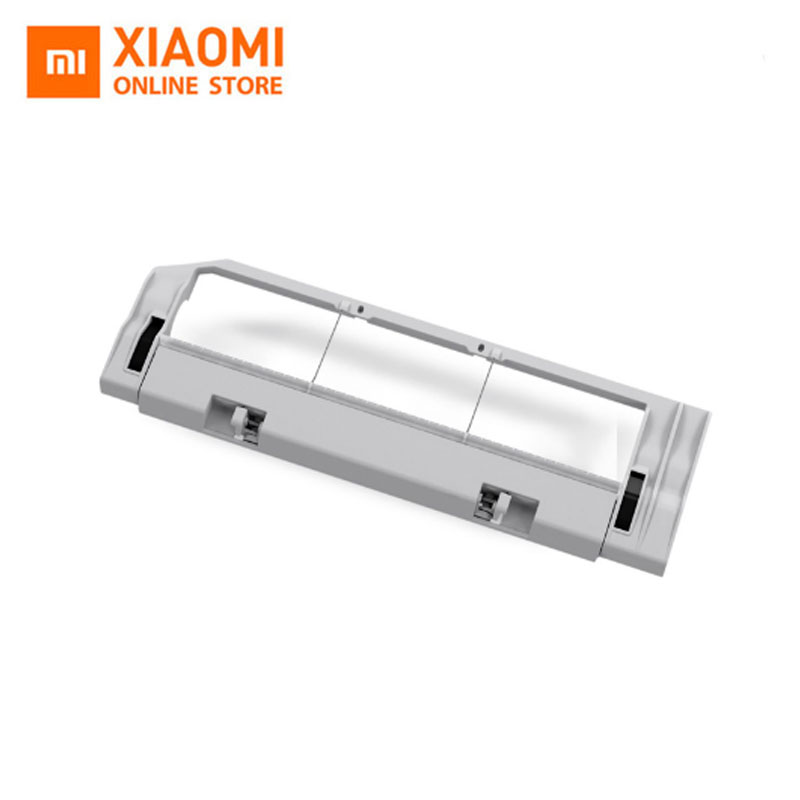 Original Xiaomi Robot Vacuum Cleaner Spare Parts Replacement Roller Cover for Main Brush 2pcs suitable for xiaomi robot vacuum cleaner spare parts roller replacement kits cleaning spare parts side brushes