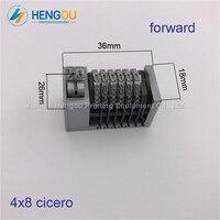 2 Pieces Good Quality 6 Digits Numbering Machine Forward For Letterpress Heidelberg Windmill 4X8 Cicero