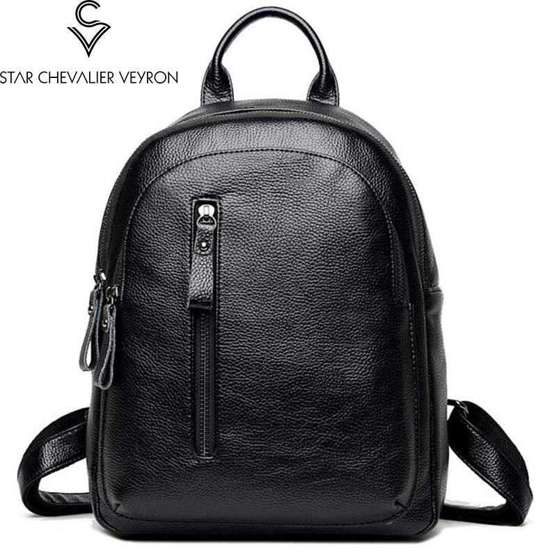 2017 new fashion trend women backpacks simple solid for teenage girls school bags high quality pu