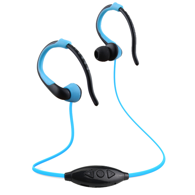 Ersuki MP3 Player USB Neckband Sports Running MP3 with Earphones Support 16GB Micro SD TF Card