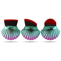 3pcs Makeup Brushes Set Foundation Brush Make Up Tools Eye Shadow Applicator