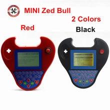 ZEDBULL-programador inteligente Mini ZEDBULL, dispositivo de programación de llaves en color rojo y negro, sin límite de fichas, Mini Zed Bull inteligente, envío gratis