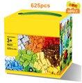 Building Blocks 625pcs DIY Creative Bricks Toys for Children Educational Toys Compatible lepin Bricks brinquedos Free Shipping