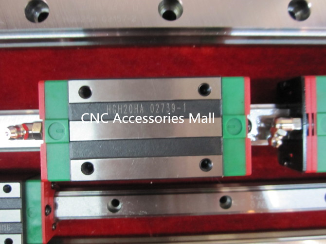 Original 4PC Rail Carriage Block HGH20HA HIWIN Slider block, HGH20HA Carriage for HGR20 linear guide rail large format printer spare parts wit color mutoh lecai locor xenons block slider qeh20ca linear guide slider 1pc