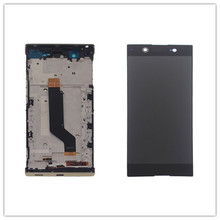 For Sony Xperia XA1 Ultra G3221 G3212 G3223 G3226 C7 Lcd Screen Display WIth Touch  Digitizer Assembly Repair Parts with frame