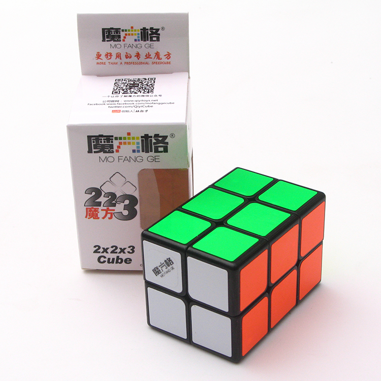 Newest qiyi Mofangge 2x2x3 magic cube speed cube Puzzle fun Toys Twisty Learning Educational Kids good
