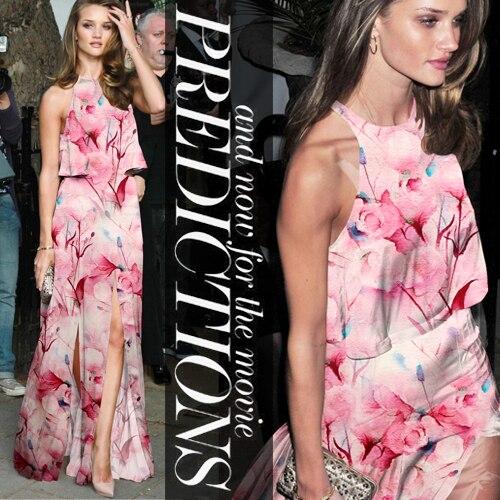 2014 nouvelle robe de tissu de vêtements d'impression numérique en soie de mûrier élastique