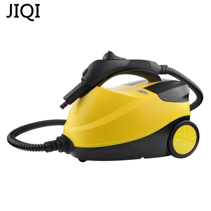 JIQI Steam Cleaner 2000W High Temperature High Pressure Cleaning Machine Disinfector Sterilization Kill Mites Automatically