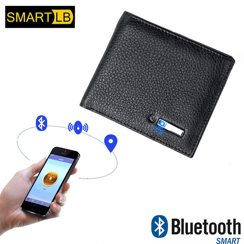 Smart Wallet Men Genuine Leather High Quality Anti Lost Intelligent Bluetooth Purse Male Card Holders Suit for IOS, AndroidSmart Wallet Men Genuine Leather High Quality Anti Lost Intelligent Bluetooth Purse Male Card Holders Suit for IOS, Android