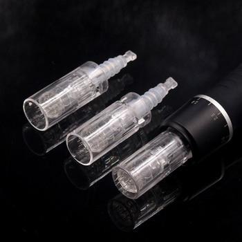 50pcs 12Pin Needle Derma Pen Bayonet Cartridge for Electric Auto Microneedle Derma Pen 12 pin Nano MYM Needles Tip
