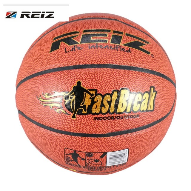4bd6b9e1f1a REIZ TF-1000 Official Size 6 Synthetic Leather Rubber Basketball Sports  Practice Indoor Outdoor Ball Game Training dropshipping