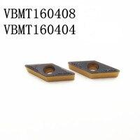 100 шт. VBMT160404/VBMT160408 PM 4225/1025/4240 высокое качество SUNVO ЧПУ Твердосплавных Применение точение SVJBL/SVJBR