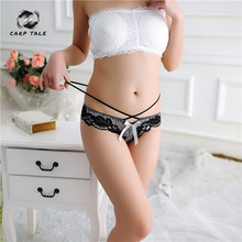 Women Sexy Seamless Briefs,Ultra-Thin Transparent Flower Embroidered Patterned Plus Size Underwear Cotton Lace Panties 2019
