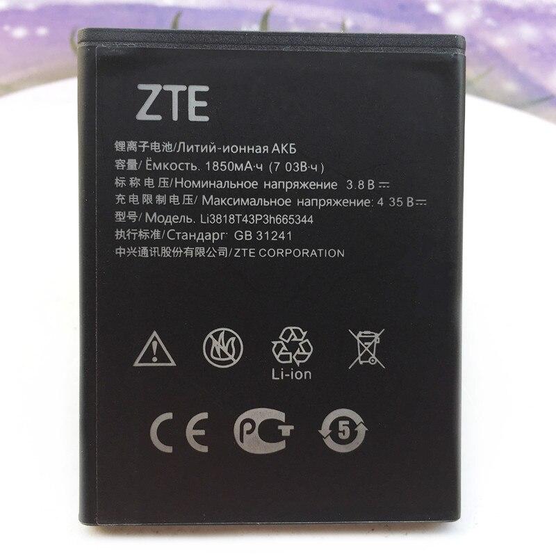 Original Hohe Qualität 1850 mah Li3818T43P3h665344 Batterie Für ZTE Klinge GF3 T320 Batterien