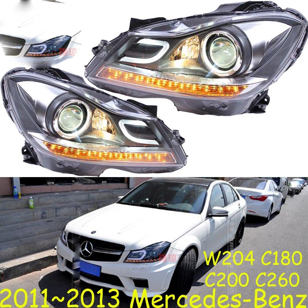 HID,2011~2013 Car Styling for W204 Headlight,canbus ballast,W204 Fog lamp,C180 C200 C260,W204 head lamp