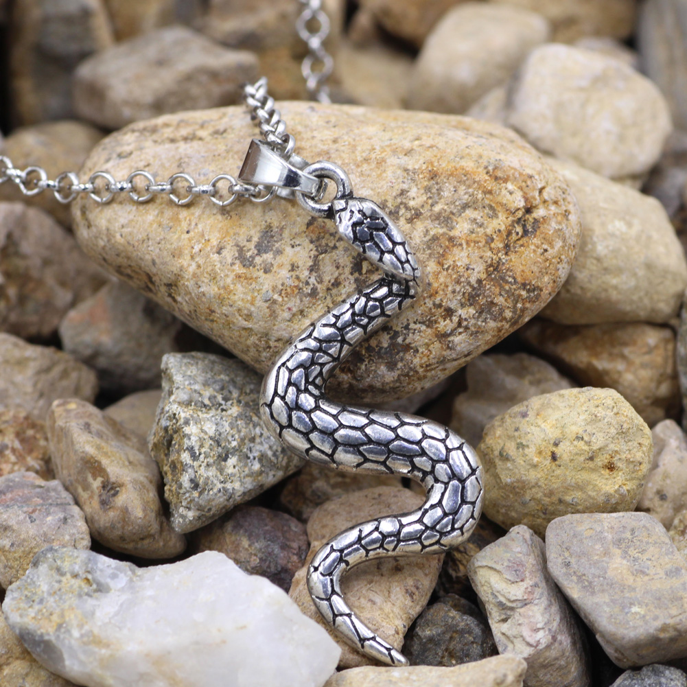 Muebles Lucky Serpiente Serpiente Encanto Sexy Collar Colgante