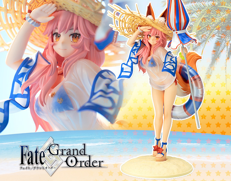 38cm Fate Grand Order FGO Tamamo no Mae Anime Cartoon Action Figure PVC toys Collection figures for friends gifts