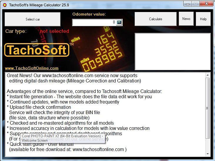 tachosoft mileage calculator 23 1 with license demo 1