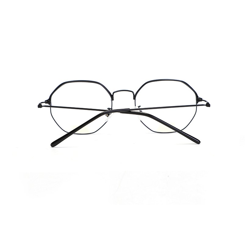 WIDTH 137 New anti blue ray glasses male female computer goggles retro polygonal art eyeglasses frames women eyewear frames men in Men 39 s Eyewear Frames from Apparel Accessories