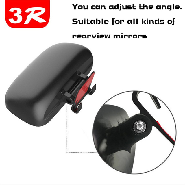 Square Wide Angle Side Rear view Mirror  Car rearview blind spot mirror Real glass Suitable for all kinds of rearview mirrors 3