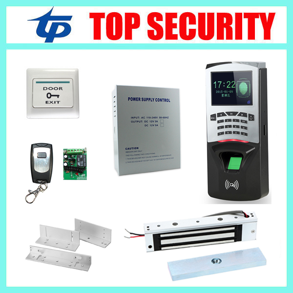 F807 Standalone access control set TCP/IP fingerprint time attendance and access control system f807 biometric fingerprint access control fingerprint attendance keypad access controller standalone door access control system
