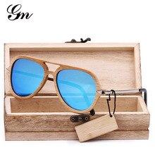 G M 2018 bambu e madeira óculos de sol da marca do vintage masculino  feminino designer de 94748248c7