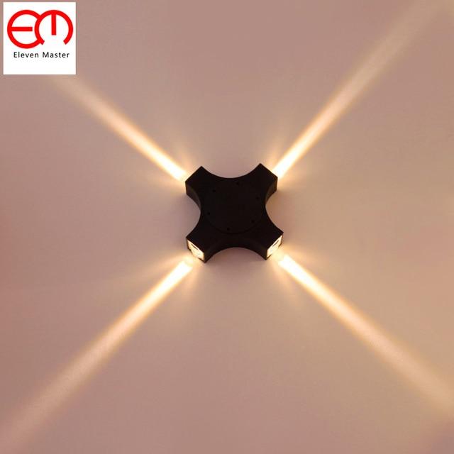 4 Faisceau troit Mur int rieur Effet Lumi re tanche LED clairage 4 mission LED Appliques.jpg 640x640 5 Luxe Luminaire Applique Led Interieur Shdy7