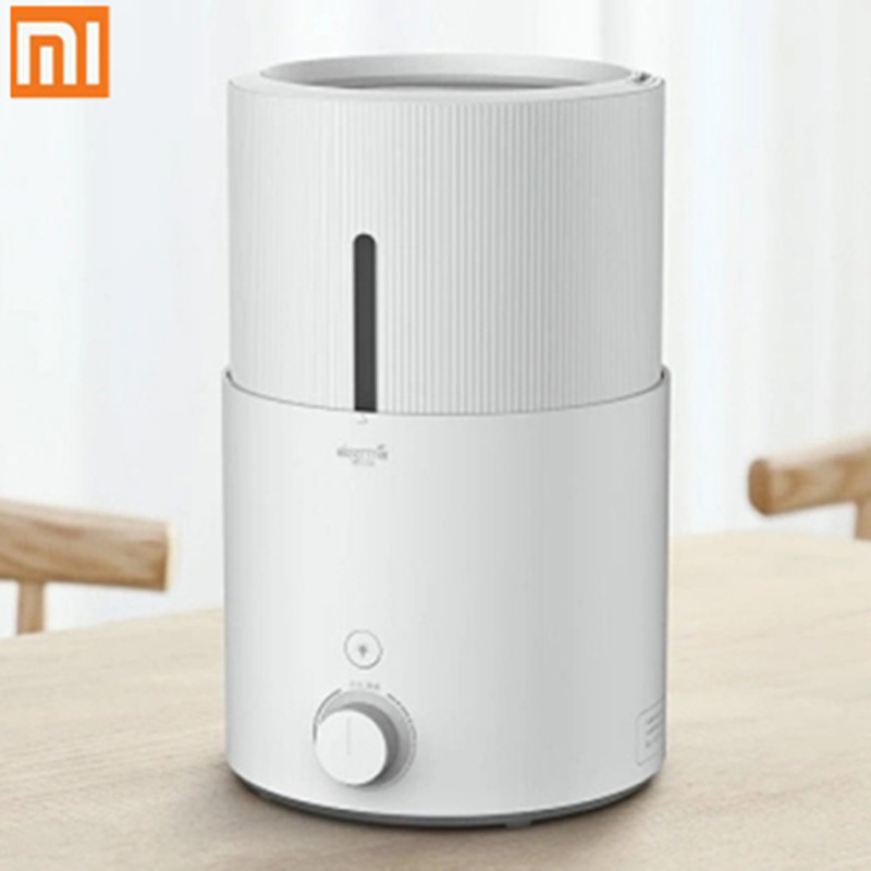 Deerma DEM - SJS600 5L Large Capacity Purifying Humidifier from Xiaomi Youpin wu s 2018 new leather belt watch men s casual waterproof simple watch machinery factory wholesale