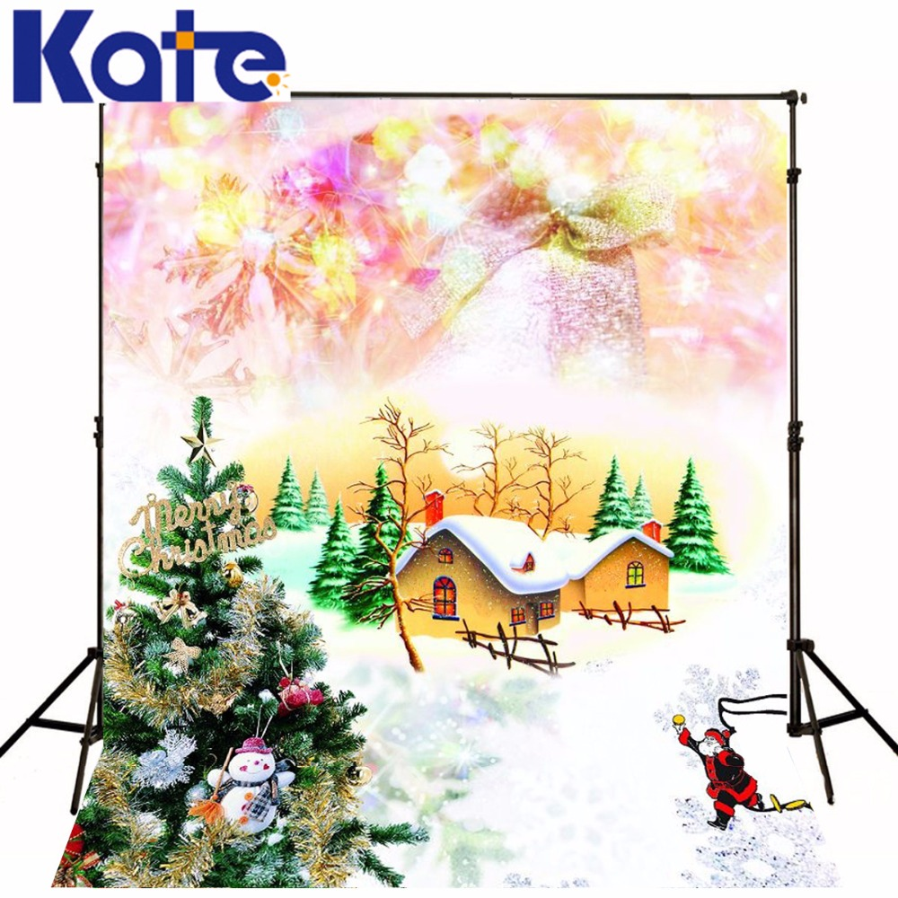 Christmas Backgrounds Christmas Santa Claus House  5X7Ft(1.5X2.2M) For Photo Zj inflatable cartoon customized advertising giant christmas inflatable santa claus for christmas outdoor decoration