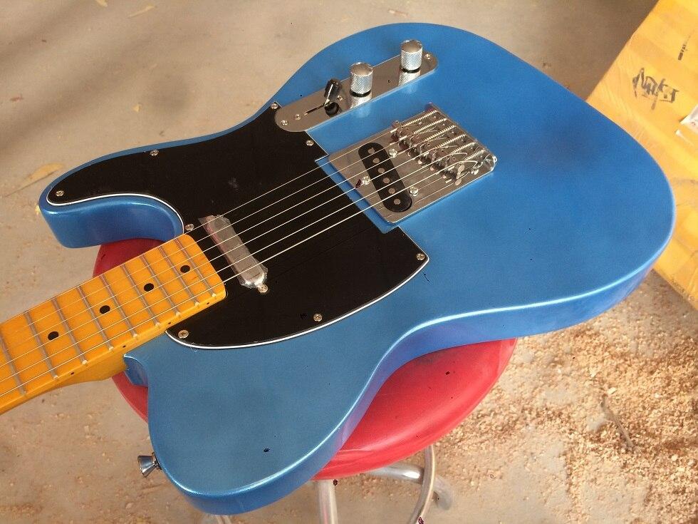 Guitare électrique 2017 nouveau fen tl guitare électrique/couleur bleue/guitare en chine