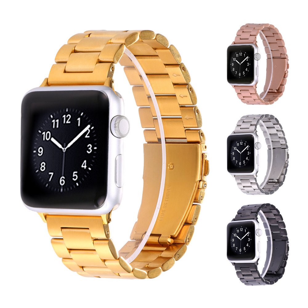 stainless steel watch band for apple watch series 1 2 38mm