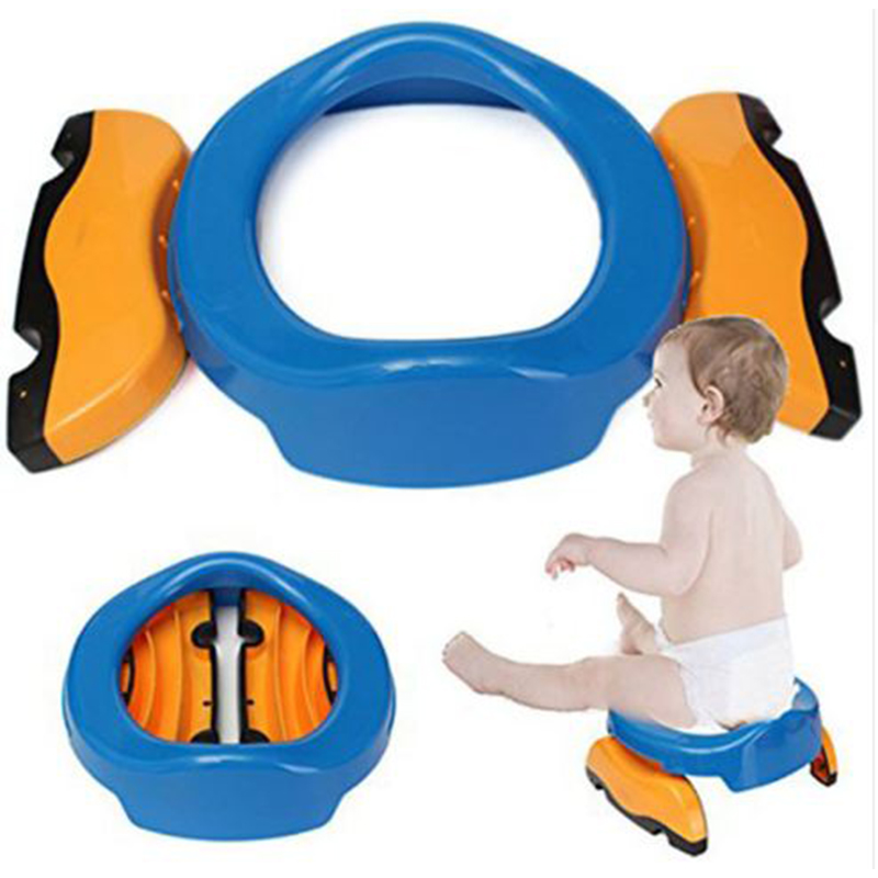 1Pc Baby Toilet Seat Infant Chamber Pots Ring Kids Children Trainers Portable Potty Toilet Folding Comfortable Chair