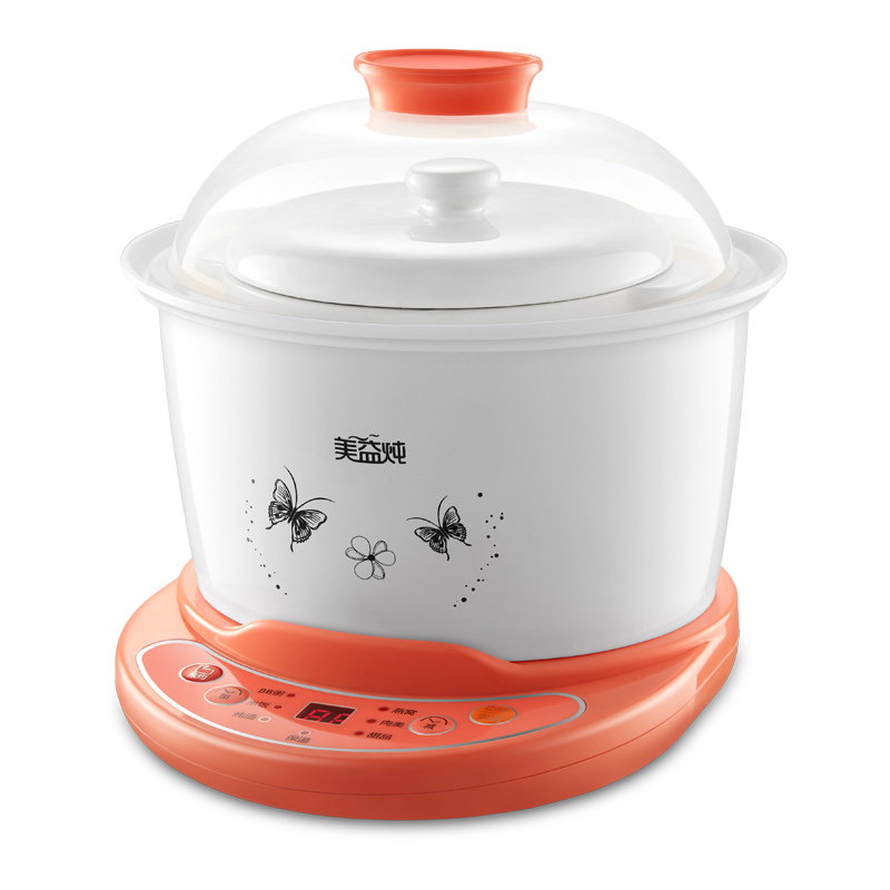 DDG-359F Water Isolated Electric Cooker Fully Automatic BB Porridge Soup Mini Electric Stew Pot cukyi household 3 0l electric multifunctional cooker microcomputer stew soup timing ceramic porridge pot 500w black