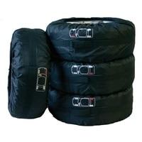 Chiziyo protetor de roda 4 pçs/set pneu de reposição capa de pneu saco de armazenamento com alças de transporte tamanho ajustável roda acessório|bags with|bag bag|bags with handles -