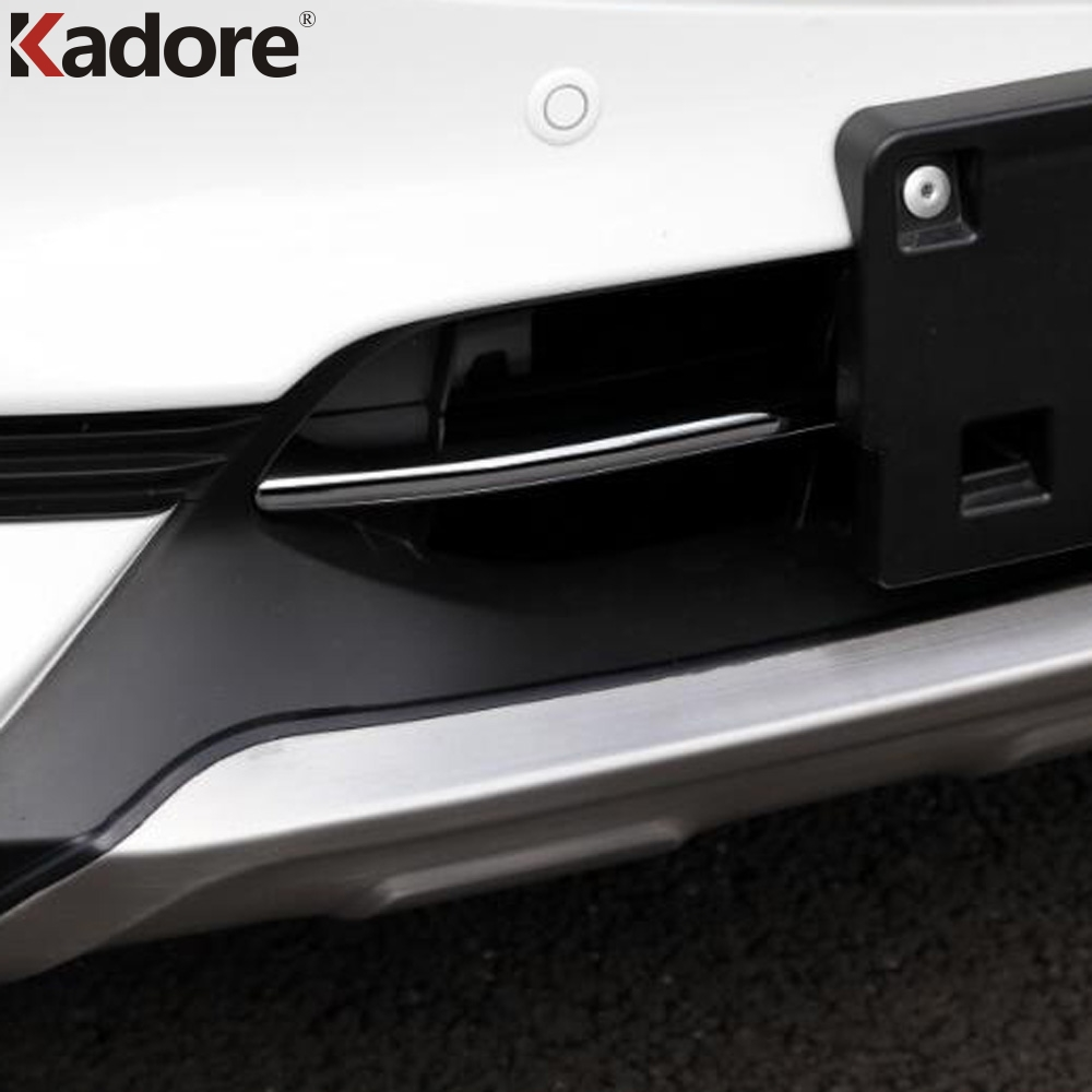 For <font><b>Mazda</b></font> CX-5 <font><b>CX5</b></font> 2017 2018 <font><b>2019</b></font> Chrome Front Grill Cover Trims Strip Sticker Exterior Accessories Car Styling image