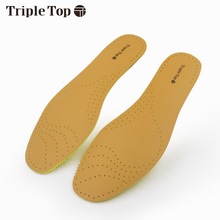 TripleTop Well Price Light-Weight Leather insoles with Breathable Spring Back Deodorization