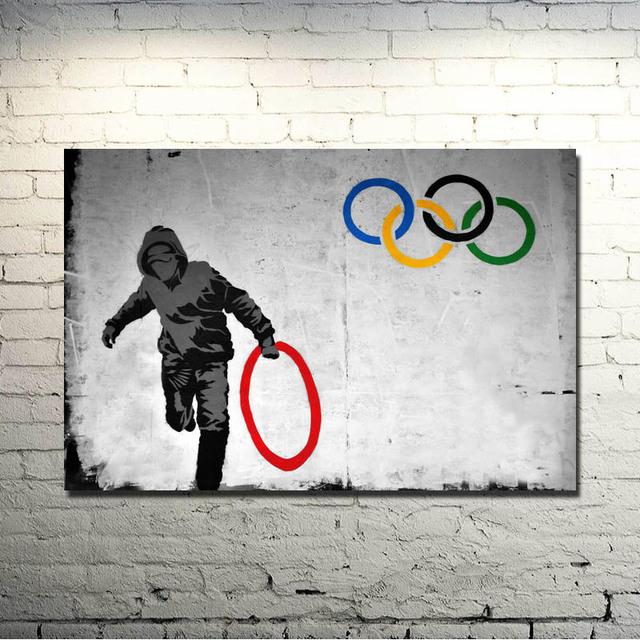 banksy graffiti art images galleries with a bite. Black Bedroom Furniture Sets. Home Design Ideas