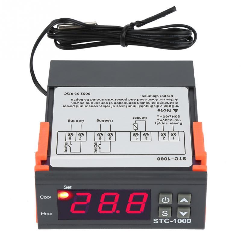 110 220v 10a Digital Thermostat Temperature Controller