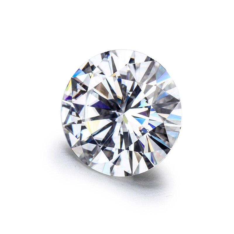 Top Qualität EF Farbe Runde Brillant Geschnitten 8,0mm 2ct Lose Moissanites Edelstein.-in Lose Diamanten & Edelsteine aus Schmuck und Accessoires bei  Gruppe 2