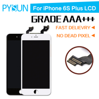 3PCS Lot 100 Top For IPhone 6s Plus LCD Display Touch Screen Digitizer Assembly Frame No
