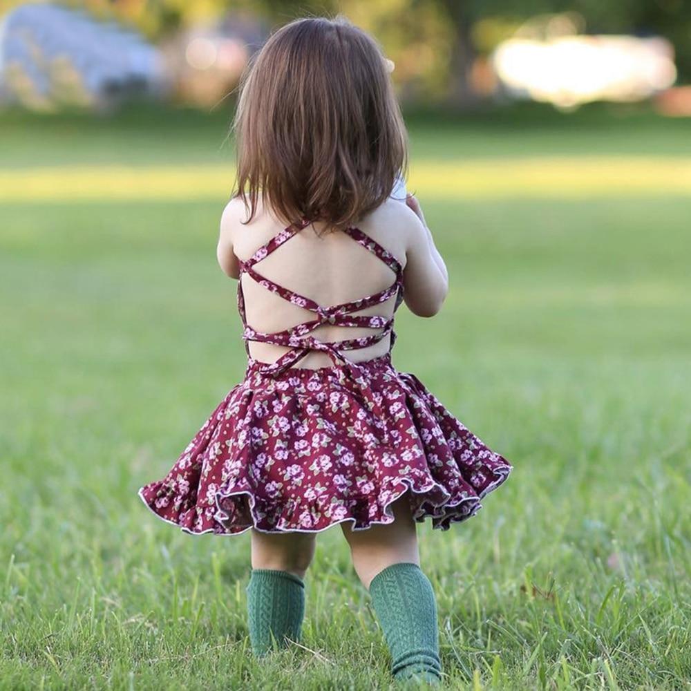 little girls dresses summer dirls casual dress toddler