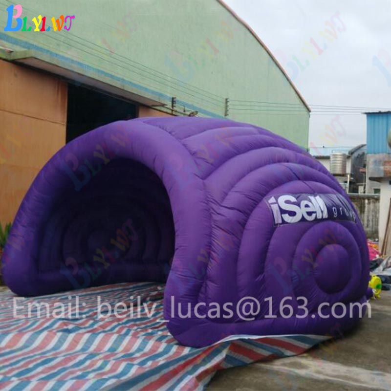 Выпуклое надувные Палатки Портативный светодио дный купола надувные палатки вечерние коммерческое мероприятие реклама палатка для Сал