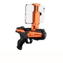 Heißer Verkauf Funny AR Spiel Guns G9 Echt Mobile Spiele Augmented Reality Smart Dekompression Spielzeugpistole Spielzeug Für Kinder Airsoft Pistole