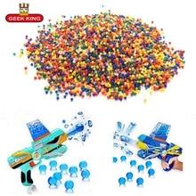 1kg/lot 7-8mm Crystal bullets Water Guns Pistol Toys Growing Balls Mini Round Soil Beads kids toys