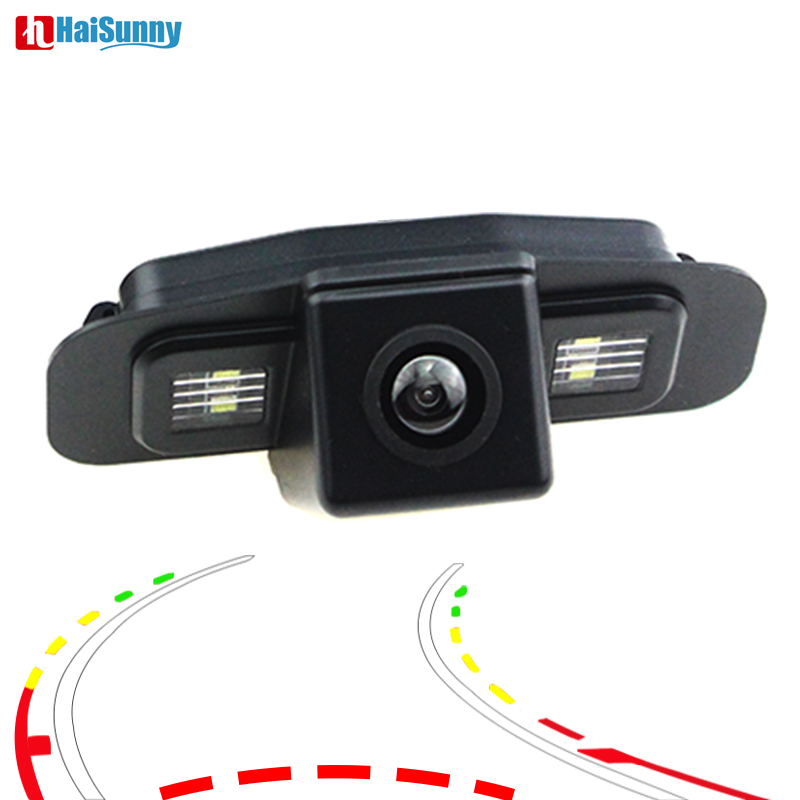 170 Degree Car Rear View Reverse Backup Parking Camera HD CCD Dynamic Line For <font><b>Honda</b></font> Spirior <font><b>Accord</b></font> 7 <font><b>8</b></font> Generation Night Vision image