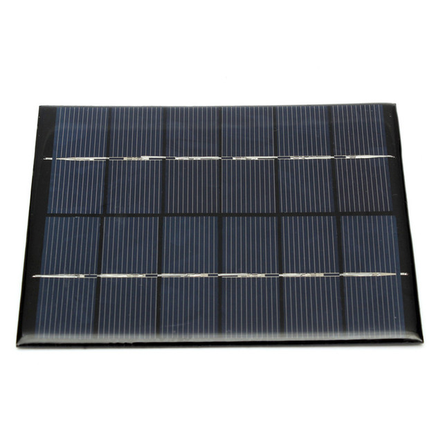 110 x 136 x 3mm Solar Panel Module for Light Battery Cell Phone Charger Portable 6V 2W 330MA DIY Polycrystalline Silicon Energy