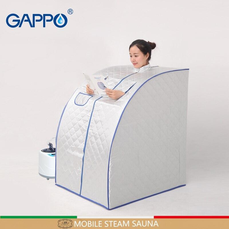 GAPPO Sauna A Vapore sauna portatile per la pelle benefico infrarossi a colori Sauna Camere da bagno SPA con sauna coperta scatola spa
