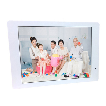 14 Inch Multifunctional HD Digital Photo Frame/Electronic Picture Album with Mirror Panel Music/Video/Ebook/Time/Alarm