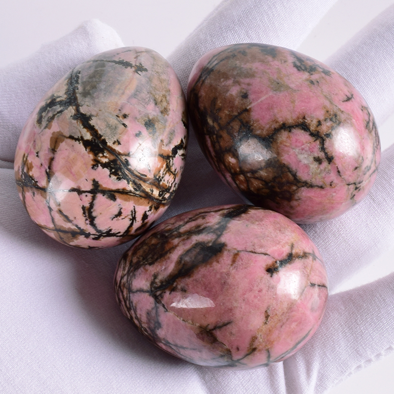 Image result for raw rhodonite yoni eggs