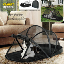 CAWAYI KENNEL Solid Ployester Breathable Detachable Outdoor Travel